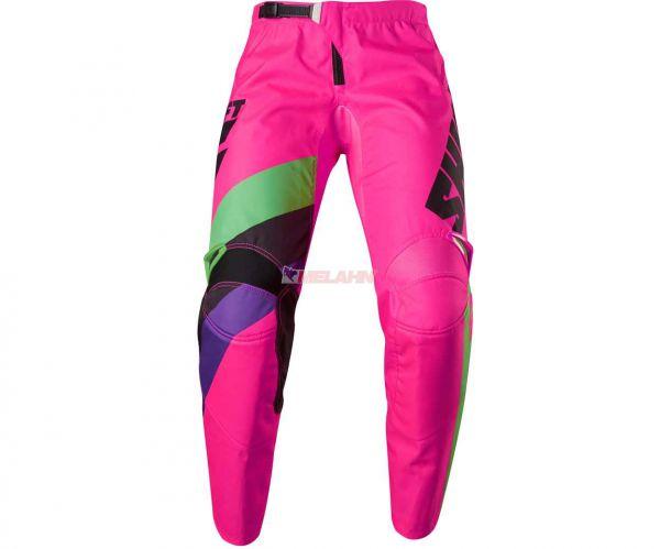 SHIFT Hose: Whit3 Tarmac, schwarz/pink
