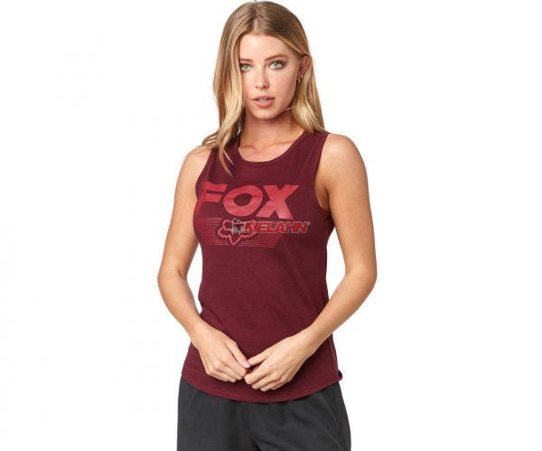 FOX Girls Tank-Top: Ascot, bordeaux