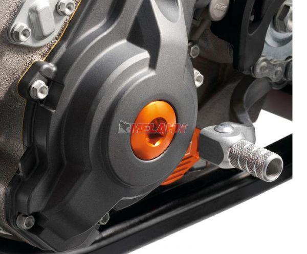 KTM SXS Aluminium-Zündungsdeckel-Schraube SX-F/EXC-F, orange