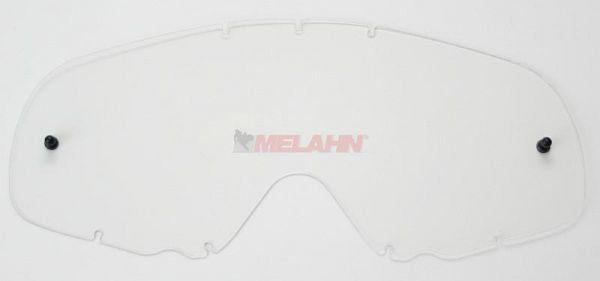 OAKLEY Ersatzglas Crowbar, klar, anti-fog