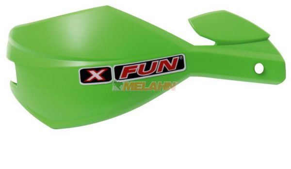 X-FUN Ersatzschale: Handprotektor Alu, grün