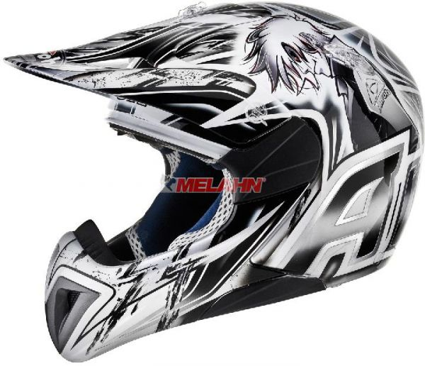 AIROH Kids Helm: Mr. Cross Boy