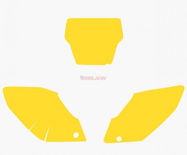 BLACKBIRD Startnummernuntergrund CRF 250 04-05, gelb