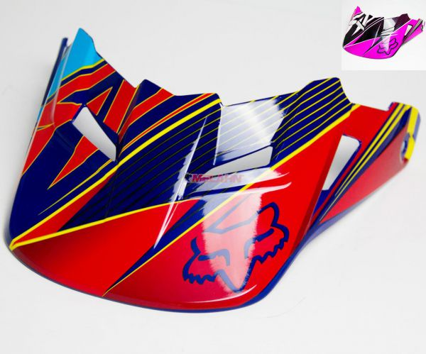 FOX Helmschirm: V1 Visor (2014) Radeon, pink