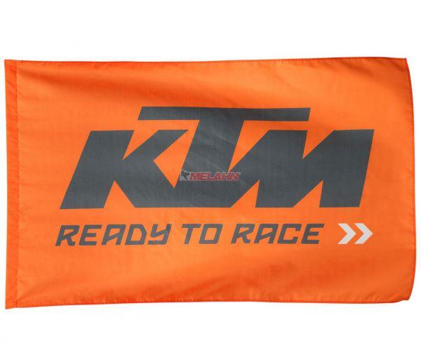 KTM Fahne 150x90cm, orange