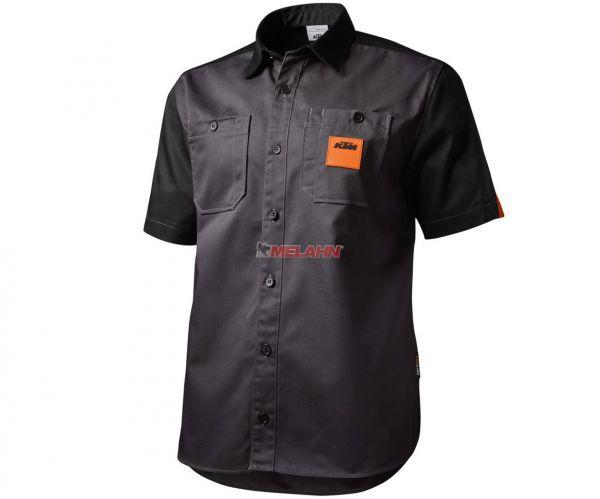 KTM Shirt: Mechanic, grauschwarz