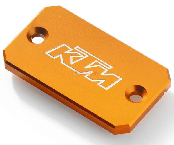 KTM Aluminium-Deckel Handbremszylinder LC4, orange