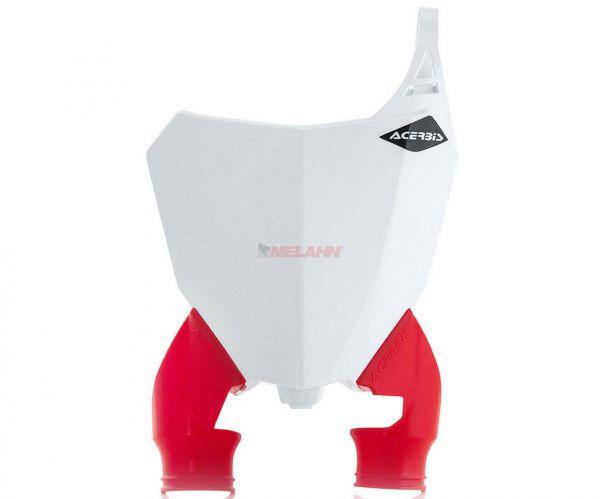 ACERBIS Starttafel: Raptor, weiß/rot, CRF 250 18- / 450 17-