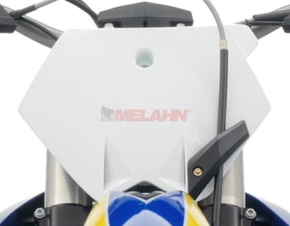 KTM Starttafel, FX 450 10-11, weiß