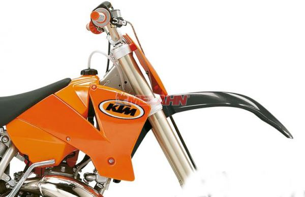 KTM Spoiler (Paar) SX/EXC 125-525 03-04, orange