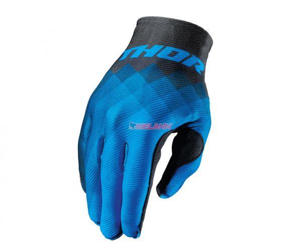 THOR Handschuh: Invert Pix, blau/schwarz