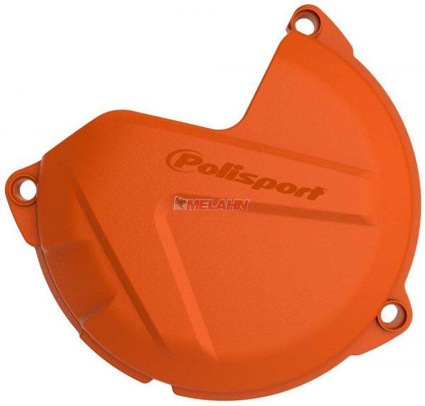 POLISPORT Kupplungsdeckelschutz, 250/300 SX/EXC 13-16, orange