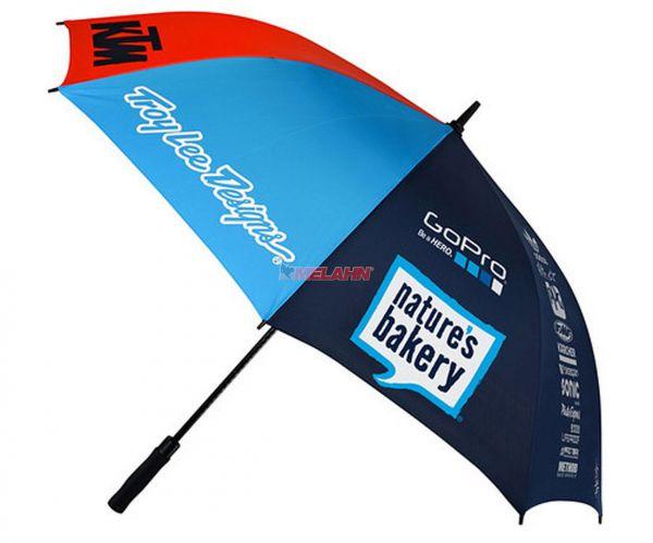 KTM TROY LEE DESIGNS Regenschirm: KTM Team, navy