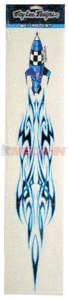TROY LEE DESIGNS Aufkleber-Kit: Sky Rocket, blau