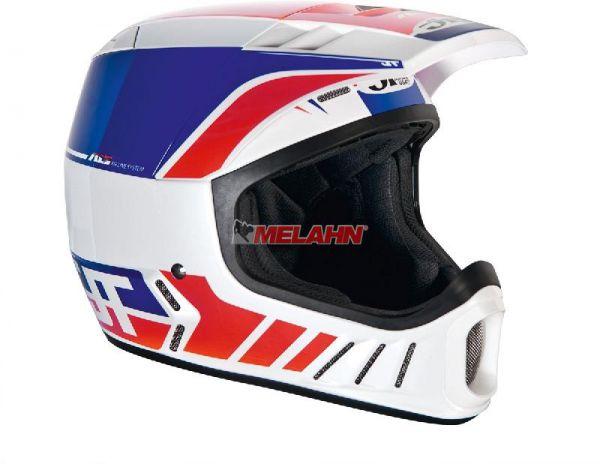 JT Helm: ALS-02, weiß/rot/blau