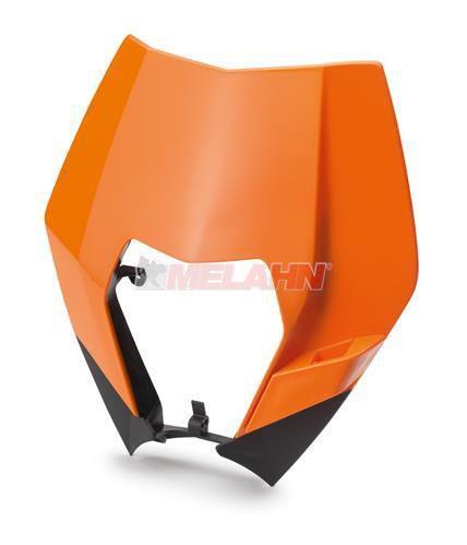KTM Scheinwerfermaske EXC 08-13, orange