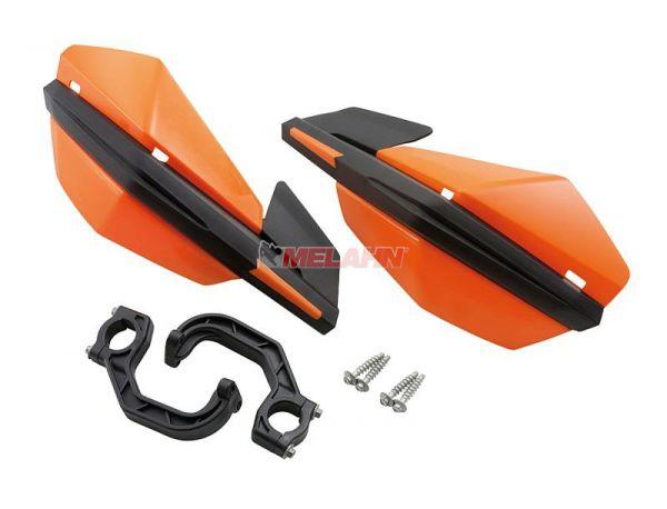 KTM Handprotektoren (Paar): MX III, Lenkermontage, orange