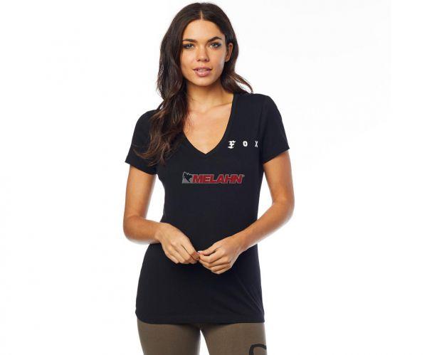 FOX Girls T-Shirt: The Super FOX, schwarz
