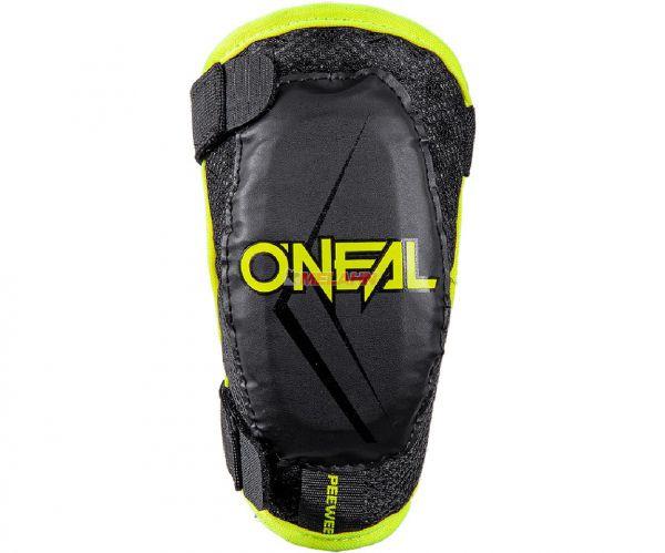 ONEAL Kids Ellenbogenprotektor: Peewee, schwarz/neongelb