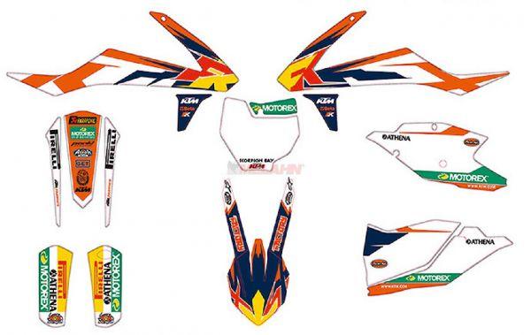 KTM Graphic-Kit: Factory, SX 16-18