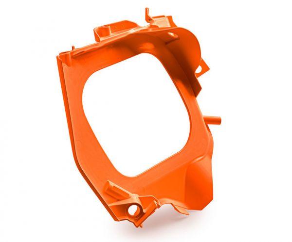 KTM Luftfilterkasten Vorderteil SX 19- / EXC 20-, orange
