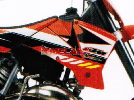 N-STYLE Tankdekor-Kit KTM SX 65 97-01