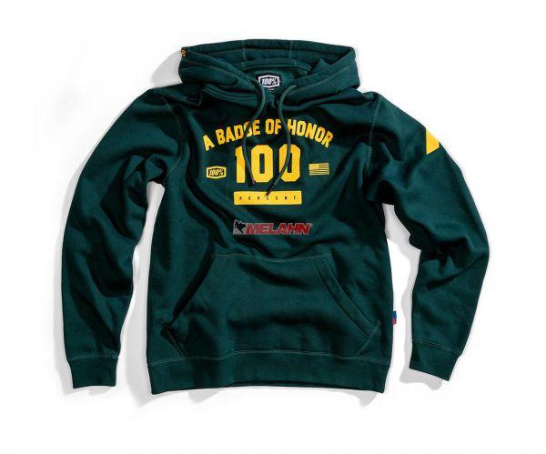 100% Hoody: Tribute, emerald