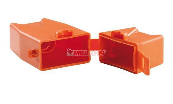 KTM Zündkerzenbox, orange