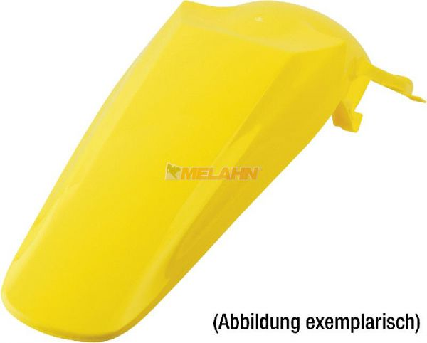POLISPORT Kotflügel hinten RMZ 250 04-06 / KXF 250 04-05, gelb