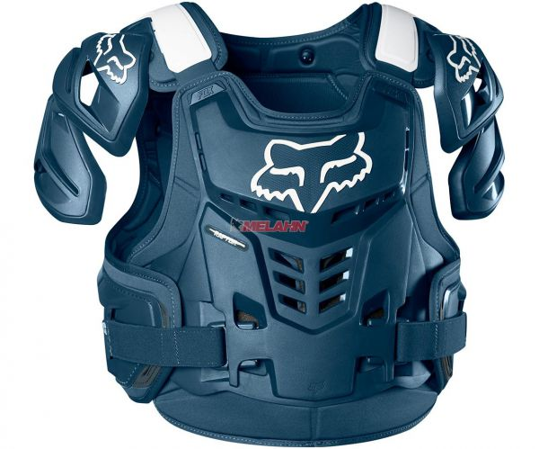 FOX Brustpanzer: Raptor Vest, blau