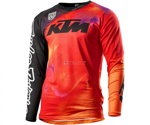 KTM TLD Jersey: SE SLASH, orange/schwarz/purple