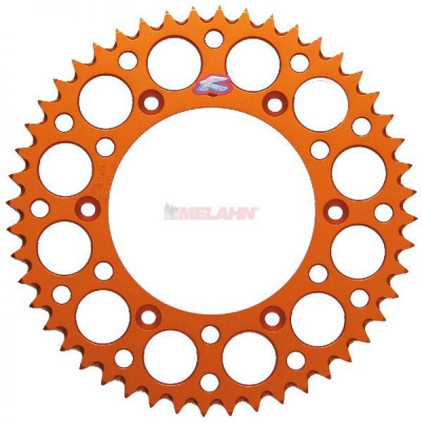 RENTHAL Kettenrad, orange, SX/EXC 125-530, 91-
