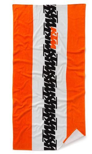 KTM Handtuch: Radical Towel, weiß/orange