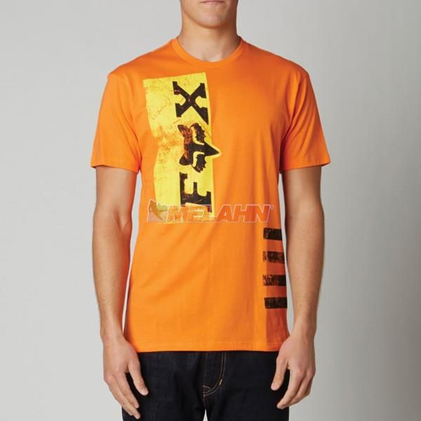 FOX T-Shirt: Rigid, orange