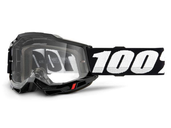100% Brille: Accuri 2 Enduro, schwarz