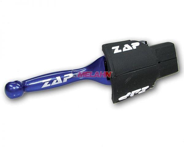 ZAP Flex-Bremshebel, CR/CRF/KX/RM, blau