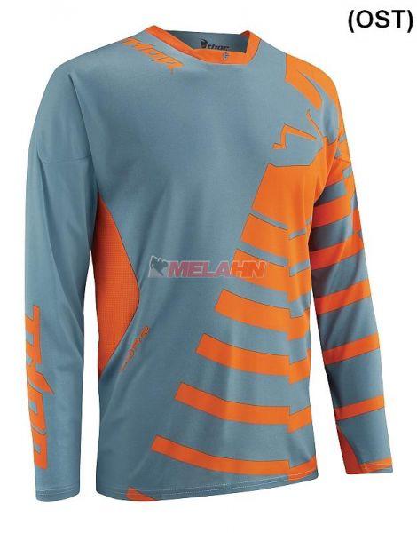 THOR Hemd: Core, Orbit steel/orange