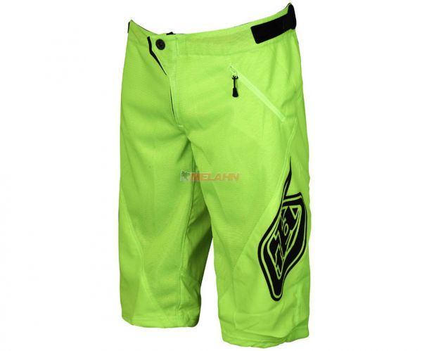 TROY LEE DESIGNS MTB Shorts: Sprint, neon gelb