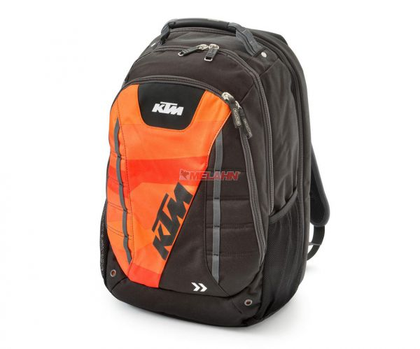KTM Rucksack: Orange Circuit, schwarz/orange
