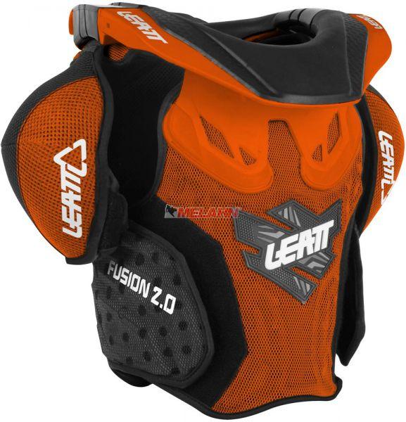 LEATT Kids Brustpanzer: Fusion 2.0, orange, S/M