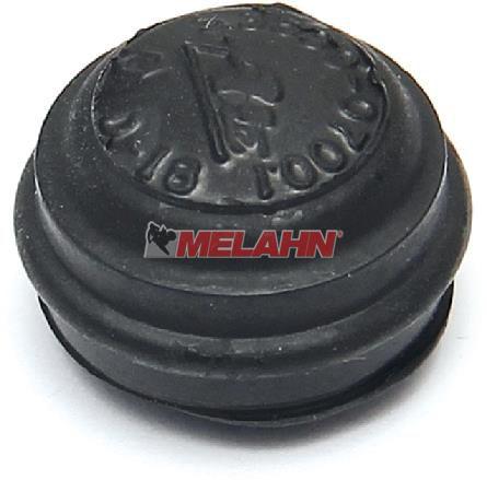 MT Gummi für Bremsentlüfternippel, schwarz, 1 Stück