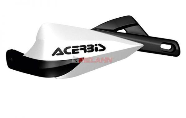 ACERBIS Handprotektor (Paar): Rally III, weiß