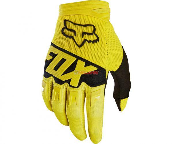 FOX Handschuh: Dirtpaw Race, gelb