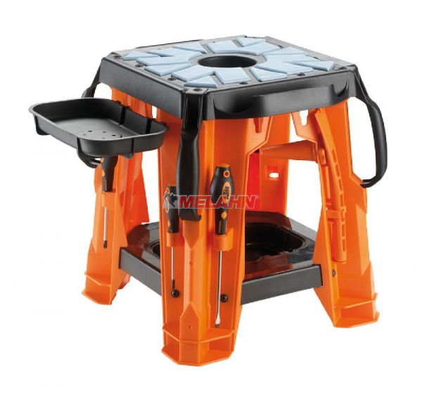 KTM Montagebock Kunststoff (Set), orange