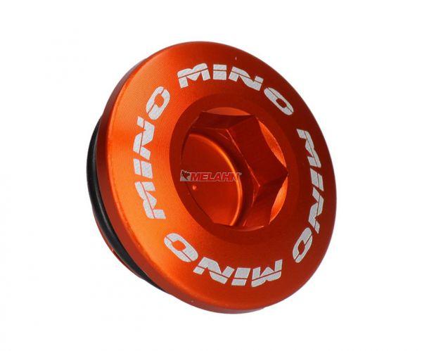 MT Aluminium-Zündungsdeckel-Schraube SX-F, orange