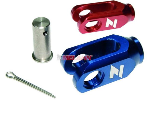ZAP Aluminium-Einsteller Hinterradbremse RM/RMZ/YZ/YZF 6mm, rot