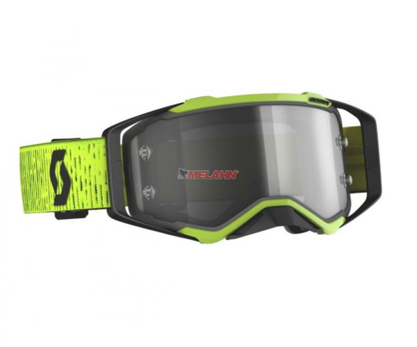 SCOTT Prospect LS Goggle Motocross MTB MX Enduro Cross Brille neongelb-schwarz LS Scheibe