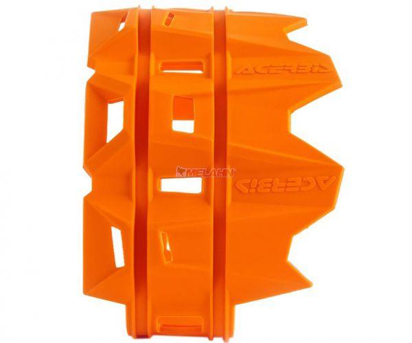 ACERBIS Schutz für Endschalldämpfer, orange