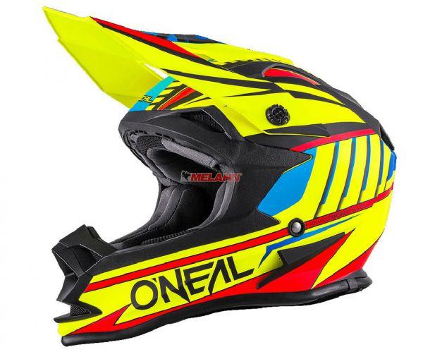 ONEAL Helm: 7Series, Chaser, neon-gelb, Größe M
