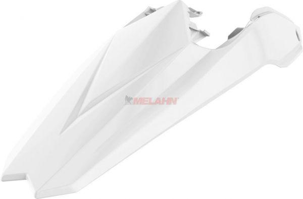 POLISPORT Kotflügel hinten mit integrierten Seitenteilen Beta RR 250-498 18-, weiß